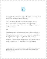 masters in digital marketing digital marketing institute