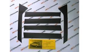 Купить черные <b>накладки на стойки</b> дверей Lada Priora