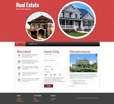 real estate responsive website template demo7