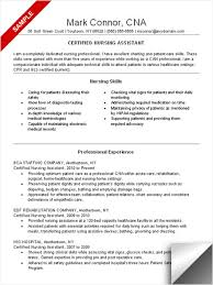 cna skills resume example   resume template infocna resume skills and qualifications cna resume examples resume sample by mark connor
