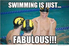 Swimming Is Just Fabulous! | WeKnowMemes via Relatably.com