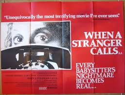 when a stranger calls original cinema movie poster from crime thriller mystery posters middot horror posters