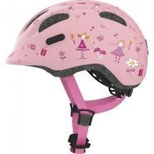 Купить <b>Велошлем</b> детский <b>ABUS SMILEY</b> 2.0, ROSE PRINCESS ...