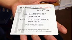 the california report kqed news part  last academic year ucla gave out 3 800 meal vouchers like this one to needy students