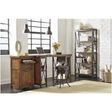 h526 34 ashley furniture shayneville rustic brown home office desk baybrin rustic brown home office small
