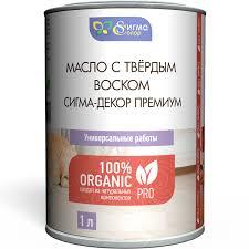 Купить натуральное <b>масло</b>-воск для защиты <b>фасадов</b> ...