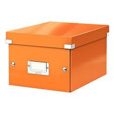 <b>Короб</b> универсальный <b>Leitz Click</b> & Store, S (A5), оранжевый ...