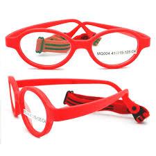 China Brand Design <b>Eyewear</b> Flexible Safety Fiber <b>Kids Eyeglasses</b> ...