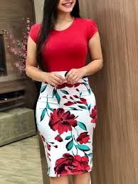 <b>Printed</b> sexy dress summer <b>color matching flower</b> bag hip dress ...