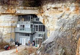 Geothermal Heating   Inhabitat   Green Design  Innovation    Gorgeous Modern Home is Built Inside a Cave