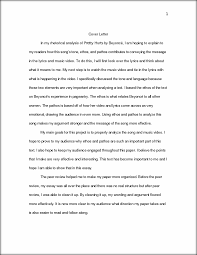 project 2 analysis of a text 1 cover letter in my rhetorical this preview has intentionally blurred sections sign up to view the full version