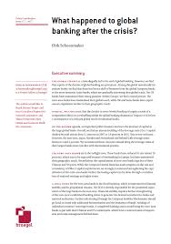 europe s radical banking union bruegel what happened to global banking after the crisis