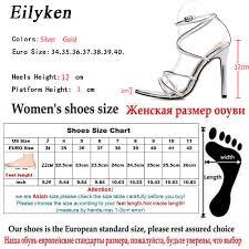Eilyken Gold silver Summer New <b>Roman</b> High heel <b>Women's</b> ...