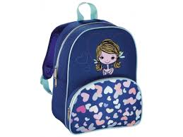 Купить рюкзак детский <b>Hama LOVELY GIRL синий</b>/голубой по ...