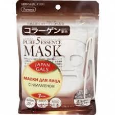 Отзывы о <b>Маска</b> для лица <b>Japan Gals</b> с коллагеном