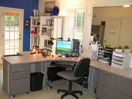 simple home office interior decorating apartment home office