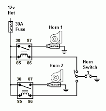 car air horn wiring diagram wiring diagrams and schematics wiring diagram for air horns using stock grounded horn on