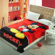 <b>Disney Cartoon</b> Minnie <b>Mickey Mouse</b> Soft <b>Flannel</b> Blanket Throw ...
