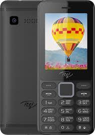 <b>Кнопочный телефон Itel IT5022</b> Elegant Black | fondim27.ru