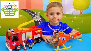 <b>Пожарный</b> Сэм и <b>пожарная</b> машина Юпитер - Обзор игрушек с ...
