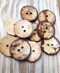 SALE Large <b>coconut shell</b> buttons in bulk 38mm by kandcsupplies ...