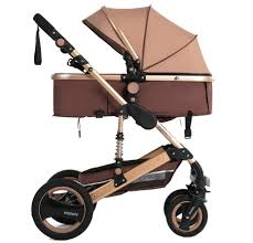 Baby Stroller 3 In 1 with Car Seat <b>High Landscape Baby Stroller</b> Can ...