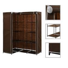 D-Shop <b>Corner Wardrobe</b> Brown <b>130x87x169</b> cm - Design Shop