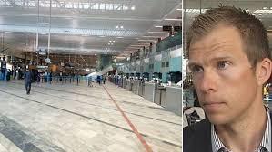 Trots inställda avgångar - lugnt på Landvetter flygplats | SVT Nyheter
