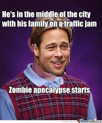 Bad Luck Brad Pitt by drunkenmaster23 - Meme Center via Relatably.com
