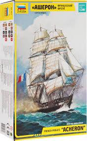 <b>Звезда Сборная модель Французский</b> фрегат Ашерон — купить в ...