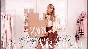ZARA <b>Autumn</b> 2019 Try On Haul! ~ <b>Autumn Fashion</b> Edit ~ Freddy ...