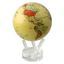 "<b>Глобус</b> ""<b>Mova Globe</b>"" с политической картой Мира Цвет: бежевый ..."