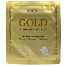 Petitfee <b>Гидрогелевая маска</b> для лица с золотом в одноразовой ...