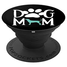 Black and Tan Coonhound Dog Mom with Pawprint Design ...
