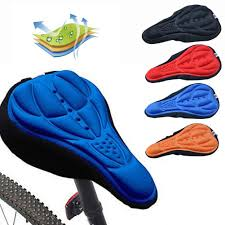 New <b>3D</b> soft thick shockproof Kursi sepeda comfortable <b>silicone</b> ...