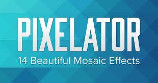 Pixelator – 14 <b>Triangular Mosaic</b> Pixel Effects by sparklestock on ...
