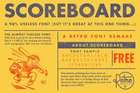 scoreboard font retrosupply co scoreboard