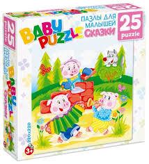 <b>Пазл Origami Astrel</b> Три поросенка (6317), 25 дет. — купить по ...