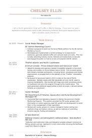social media manager resume samples   visualcv resume samples databasesocial media manager resume samples