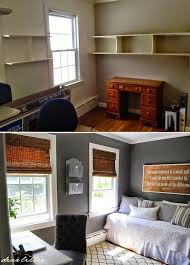 home office bedroom combination 1000 ideas about bedroom office combo on pinterest spare interior bedroom office combination