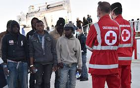 Hasil gambar untuk Muslim Migrants Throw Christians Overboard