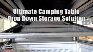 The Bush Company - Stainless <b>Camping Table</b> Storage Solution ...