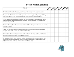 Creative writing poems Unique Teaching Resources