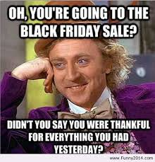 black friday humor | Tumblr via Relatably.com