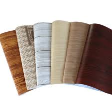 wood grain sticker self adhesive paper for furniture wall paper 3d floor waterproof wallpaper bathroom contact adhesive paper for furniture