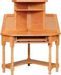oak corner desk hutch awesome oak corner laptop desk