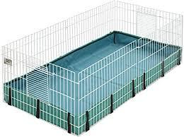 Guinea Habitat Guinea Pig Cage by MidWest, 47L x ... - Amazon.com