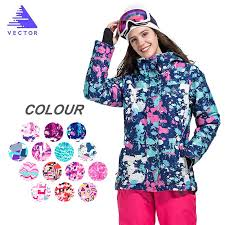 <b>Women</b> Fleece <b>Ski Jacket Winter</b> Snowboarding Clothing Windproof ...