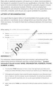 of recommendation examples character letter of recommendation examples character