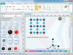 molecular model diagram software  free examples and templates download